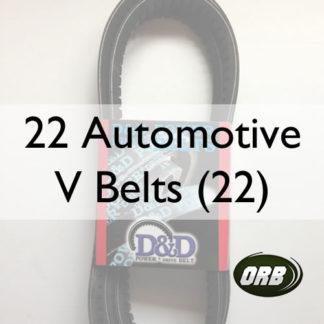 22 Automotive V Belts (22)