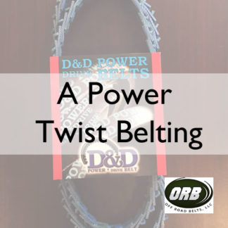 A Power Twist Belting (B-TLA)