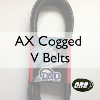 AX Cogged V Belts (B-AX)