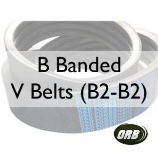 B Banded V Belts (B2-B2)