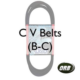 C V Belts (B-C)