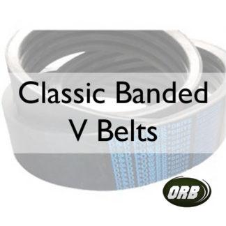 Classic Banded V Belts