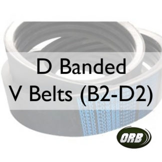 D Banded V Belts (B2-D2)
