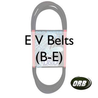 E V Belts (B-E)