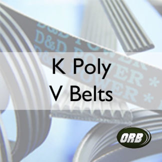 K Poly V Belts (B2-K2)