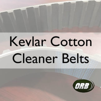 Kevlar Cotton Cleaner Belts (Rubber Cotton Cleaner Belts (T-CCBK)