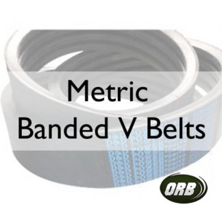 Metric Banded V Belts