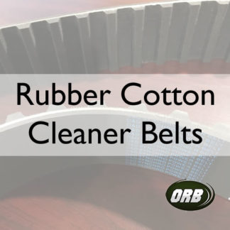 Rubber Cotton Cleaner Belts (T-CCB)
