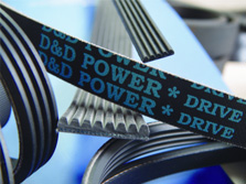 D/&D PowerDrive 4//3V710 Banded V Belt
