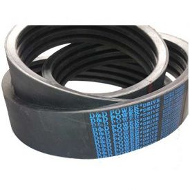 D/&D PowerDrive 3V500//03 Banded Belt  3//8 x 50in OC  3 Band