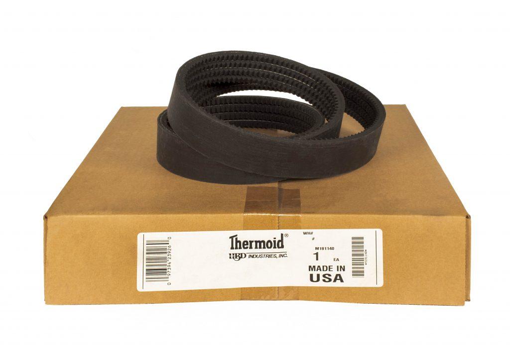 D/&D PowerDrive 4//3VX355 Banded Cogged V Belt